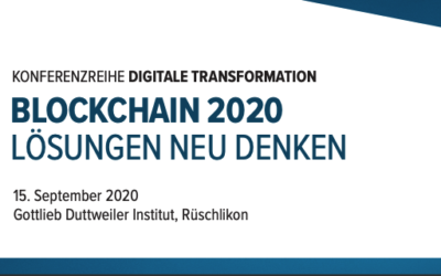 SAVE THE DATE 15.September 2020 Rüschlikon