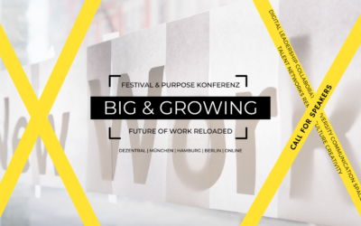 Join us at BIG & GROWING